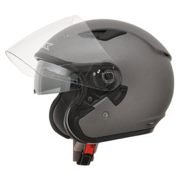 AFX FX-46 FX46 Open Face Helmet Grey