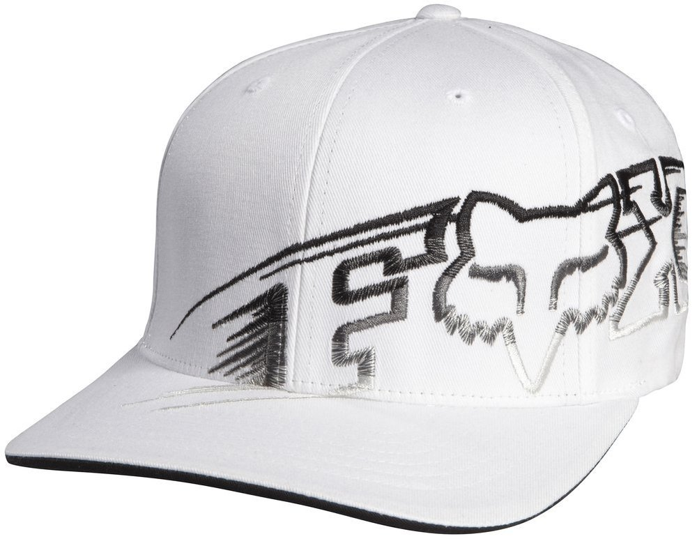 ... shop white fox racing mens night hive flexfit hat 2013 9db0a bdc3f ... aaf31b5b658
