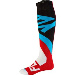 Fox Racing Mens Coolmax Grav Thick Socks Red