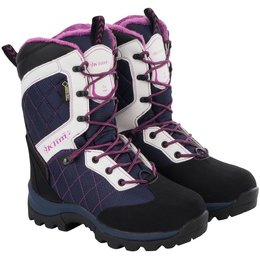 Klim Womens Aurora GTX Gore-Tex Insulated Snowmobile Boots Blue, White