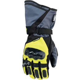 Moose Racing Mens ADV1 Long Textile Gloves Yellow