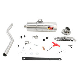 Supertrapp IDSX Exhaust System Stainless Steel For Yamaha Bruin 4x4