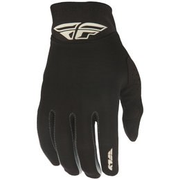 Fly Racing Youth Boys Pro Lite Textile Gloves Black