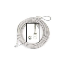 Warn Industries Winch 50 X 3/16 Cable For A2000/2500 Steel DRUM