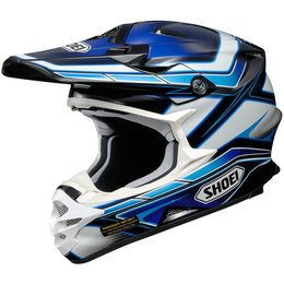 Shoei VFX-W Capacitor DOT Approved Motocross MX Helmet Blue