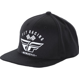 Fly Racing Mens Revel Hat Black