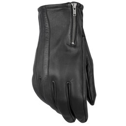 Highway 21 Mens Recoil Leather Gloves Black