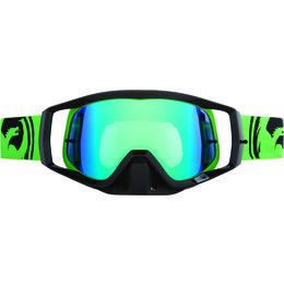 Green, Black Dragon Alliance Vendetta Split Goggles With Green Ionized Lens 2013 Green Black