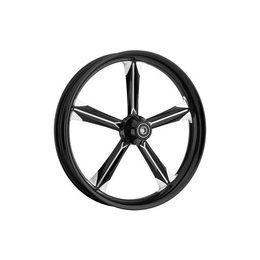 Ride Wright Chief Wheel 16 X 3.5 Black For Harley Davidson
