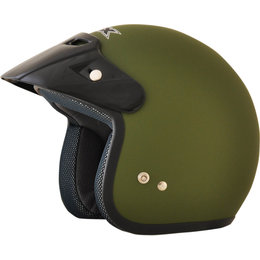 AFX Youth Fx-75Y Open Face Helmet Green