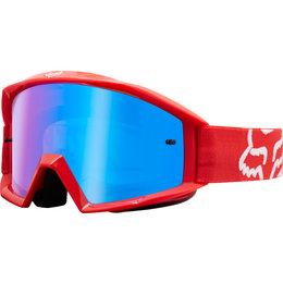 Fox Racing Main Goggles Local Stock Red