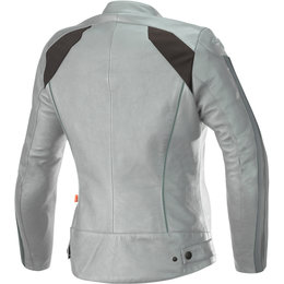 Alpinestars Womens Stella Dyno V2 Leather Jacket Grey