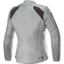 Alpinestars Womens Stella Dyno V2 Leather Jacket Grey