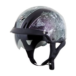 Scorpion Womens EXO-C110 EXOC 110 Mariposa Half Helmet