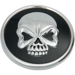 Drag Specialties Skull Vented Gas Cap For Harley-Davidson Black 0703-0525