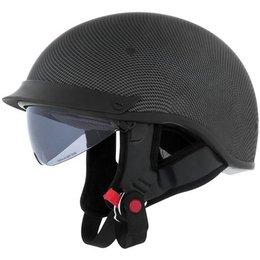 Carbon Cyber U-72 Half Helmet With Internal Sunshield