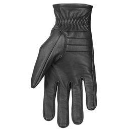 Highway 21 Mens Recoil Leather Gloves Black