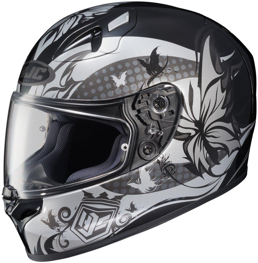 Hjc Fg 17 >> $128.06 HJC Womens FG-17 FG17 Flutura Full Face Helmet #198812