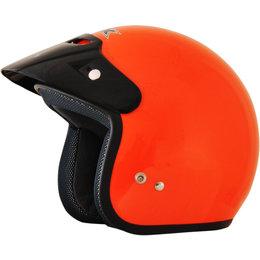 AFX Youth Fx-75Y Open Face Helmet Orange