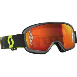 Scott USA Youth Buzz MX Offroad Anti-Fog Goggles Yellow