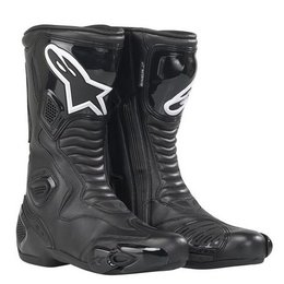 Black Alpinestars S-mx 5 Smx5 Waterproof Boots Us 3.5