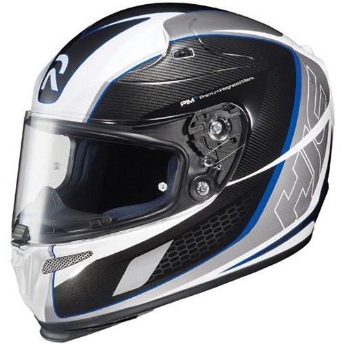 hjc rpha 10 cage full face helmet 142422. Black Bedroom Furniture Sets. Home Design Ideas