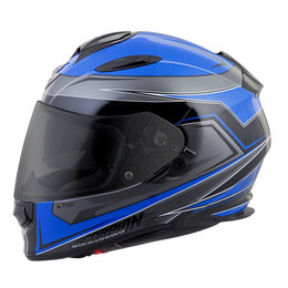 Scorpion EXO-T510 EXOT 510 Tarmac Full Face Helmet Blue
