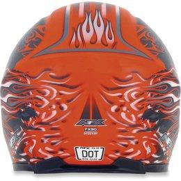 Safety Orange Afx Mens Fx-90 Fx90 Reaper Full Face Helmet