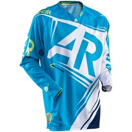 Blue, Yellow Answer Mens Alpha Jersey 2015 Blue Yellow