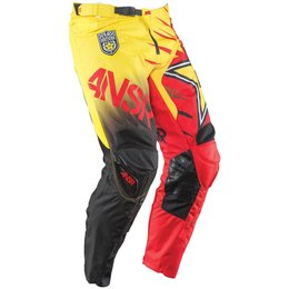 Red, Yellow Answer Mens Rockstar Pants 2015 Us 30 Red Yellow
