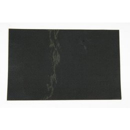 N-Style Number Plate Background 12x17 Inch Carbon Fiber