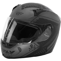 Fly Racing Revolt FS Patriot Helmet Grey