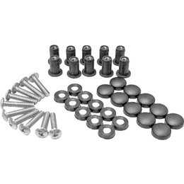 SPI Snowmobile Windshield Fasteners Screw Kit 10-Pack For Arctic Cat SM-06015 Unpainted