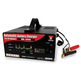 Yuasa Automatic Battery Charger 12V 4 Amp Universal