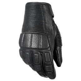 Highway 21 Mens Trigger Leather Gloves Black