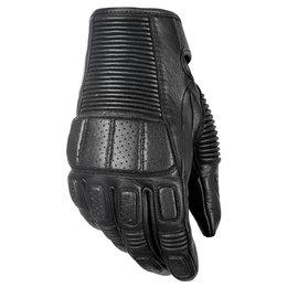 Highway 21 Mens Trigger Leather Gloves Black