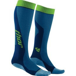Thor Youth Boys MX Cool CoolMax Motocross Motorsports Riding Socks Blue
