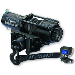 KFI SE25 ATV Stealth Series 2500 Lb Winch Kit With Synthetic Line Universal