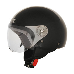 AFX FX-33Y FX33Y Youth Open Face Scooter Helmet Black
