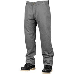 Speed & Strength Mens Soul Shaker Armored Textile Moto Riding Pants Grey