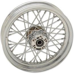 Drag Specialties Spoke Rear Wheel 16x3 Chrome 0204-0520 Metallic