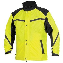 Day Glo Yellow, Black Firstgear Sierra Rain Jacket Day Glo Yellow Black
