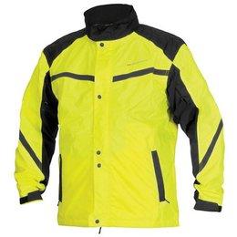 Day Glo Yellow, Black Firstgear Sierra Rain Jacket Day Glo Yellow Black