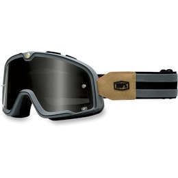 Grey 100% Barstow Legend Street Goggles With Lens 2014
