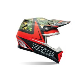 Bell Powersports Moto-9 Carbon Flex Tagger MX/Offroad Helmet With Visor