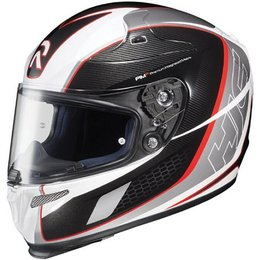 Red Hjc Rpha-10 Cage Full Face Helmet