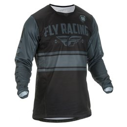 Fly Racing Mens Kinetic Mesh Era Jersey Black