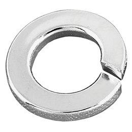 Gardner-Westcott Standard Lock Washers #8 Chrome For Harley Metallic