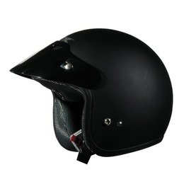 AFX FX-75 FX75 Open Face Helmet Black