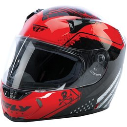 Fly Racing Revolt FS Patriot Helmet Red